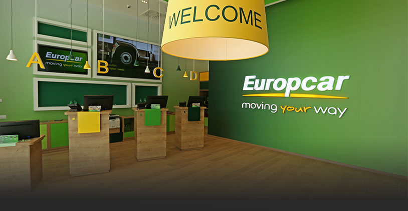 New Europcar Station